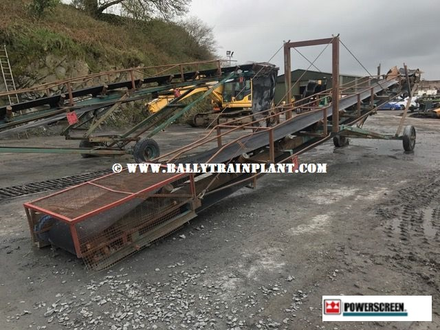 Powerscreen M60 Mobile Conveyor €2,750 Complete with Hydraulic Motor Drive