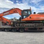 Doosan DX300LC Sold to Wicklow