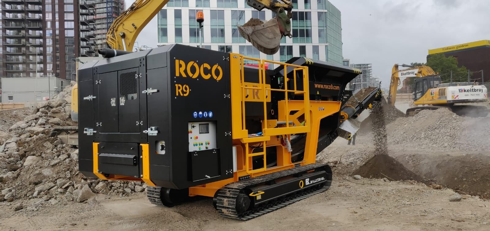 ROCO R9R Crushing Concrete with Rebar