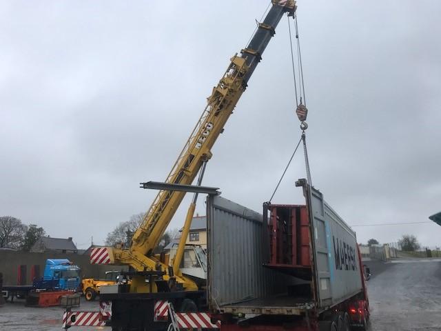 Container to Malta