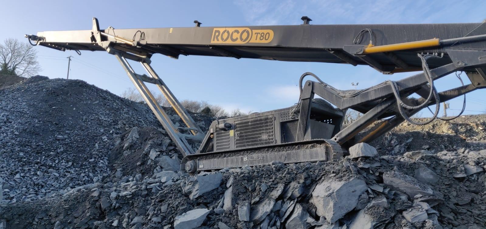 ROCO T80 Stacker Working