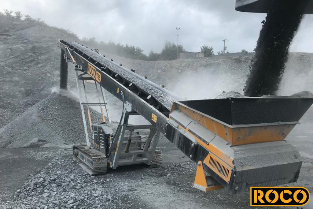 Roco T65 Tracked Stacker