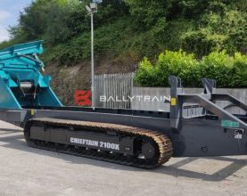 Powerscreen Chieftain 2100x Chassis