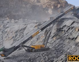 Roco T80 AGG Tracked Stacker