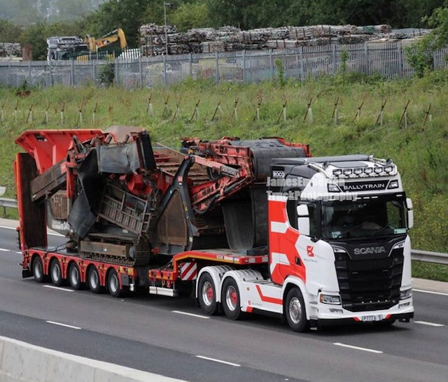 Our truck spotted on M6 Coventry