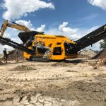 Roco 1600S processing Soils and C&D Material