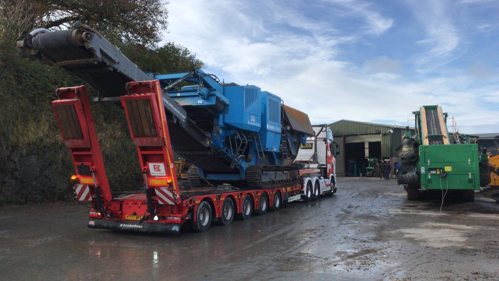 Pegson XA400 Jaw Crusher Sold To Africa