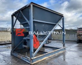 Single Feed Aggregate Hopper