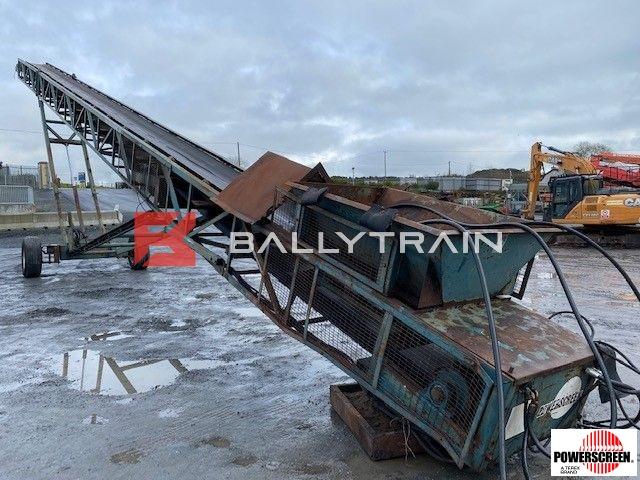 Powerscreen M100 Radial Conveyor