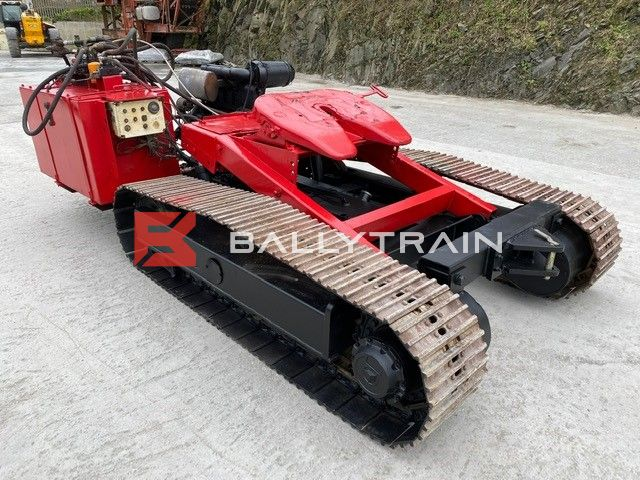 Remote Controlled 5th Wheel Tracked Dolly